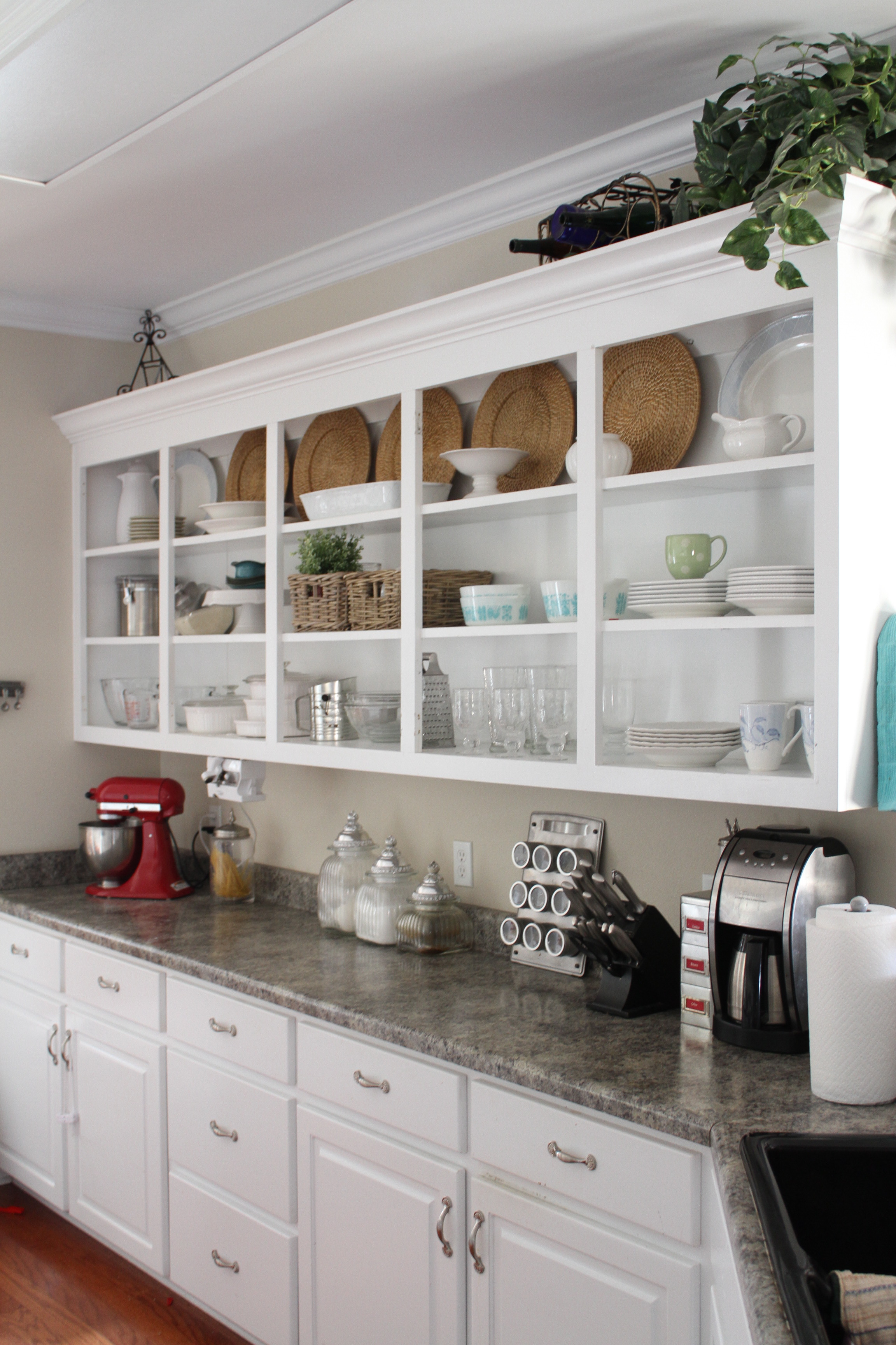 Tips For Open Shelving In The Kitchen: Perfectly Imperfect™ Blog