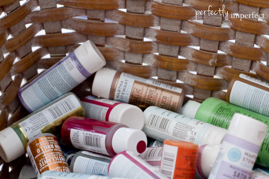 Perfectly Imperfect Acrylic Paints