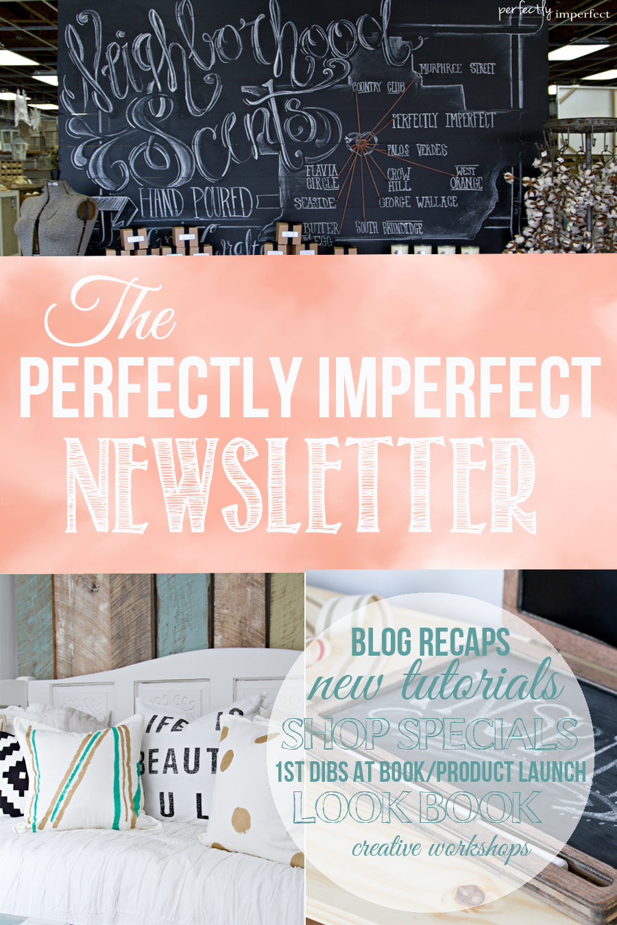 Perfectly Imperfect Newsletter Ad