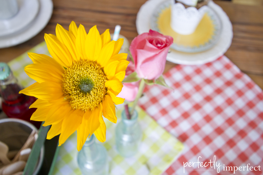 Sunflower Spring Table