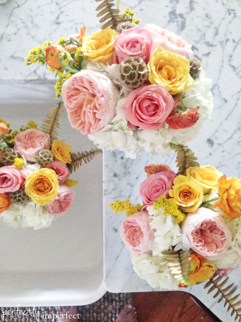 Perfectly Imperfect Book Launch Flowers
