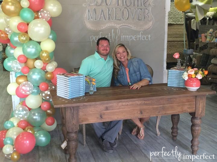 Perfectly Imperfect Book Launch Party Balloon Garland