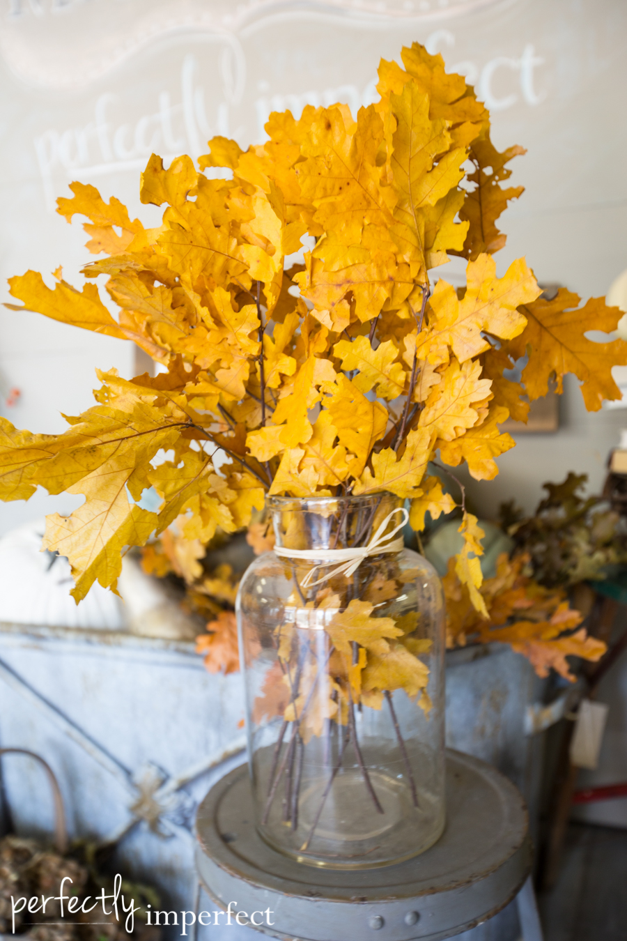 Perfectly Imperfect Fall Decorating Picks-8