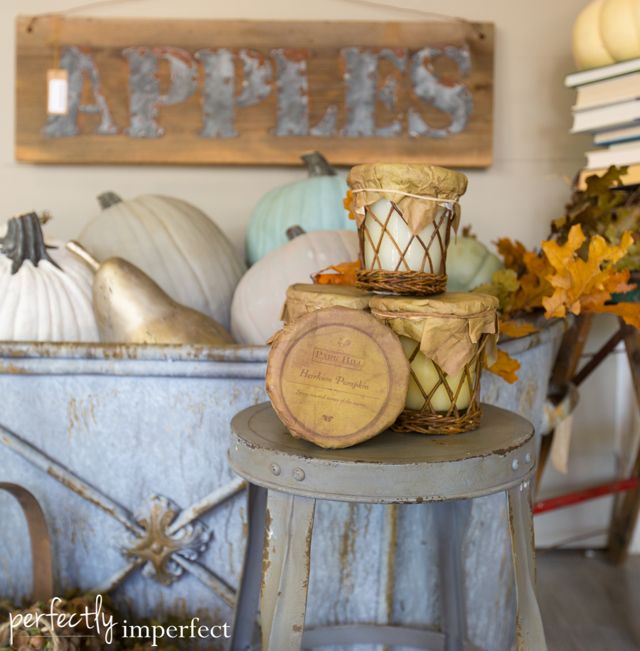 Perfectly Imperfect Fall Decorating | perfectly imperfect