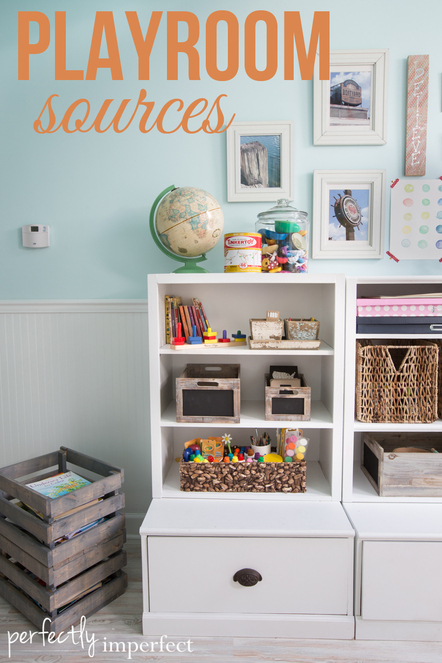 Perfectly Imperfect Playroom Homeschool Room Reveal Sources | perfectly imperfect