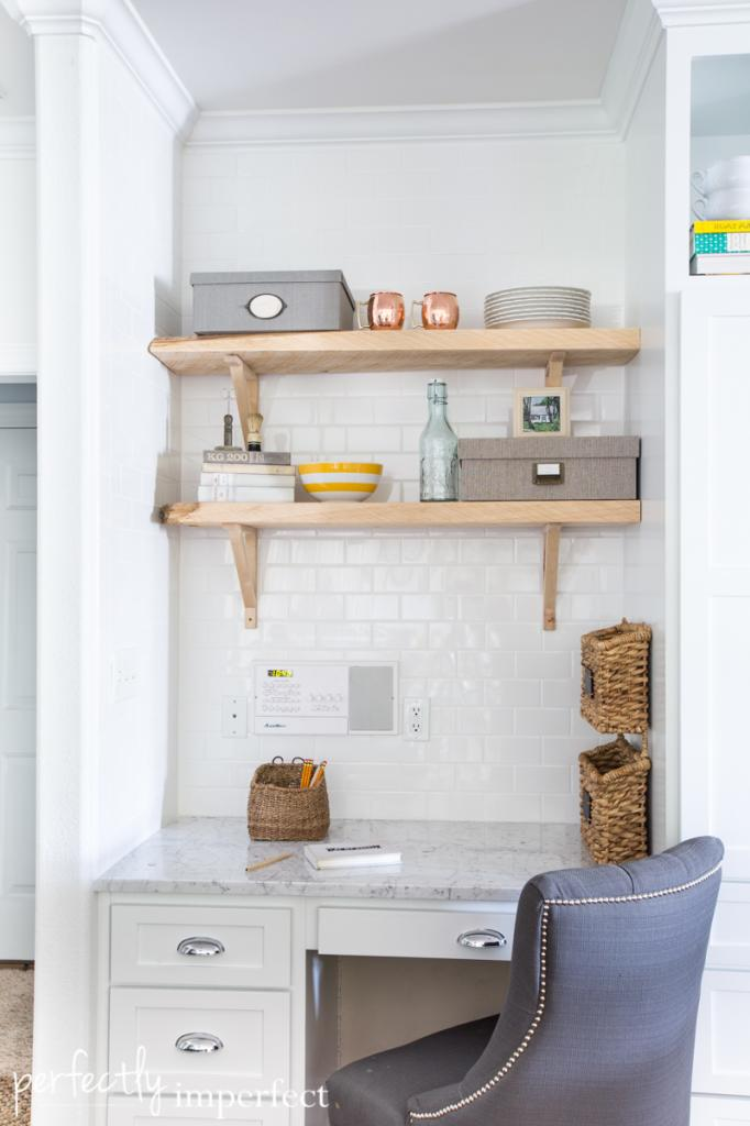 Open Shelving | Bathroom Inspiration | Perfectly Imperfect