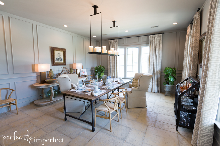 Southern Living Inspired Home Dining Room Guest