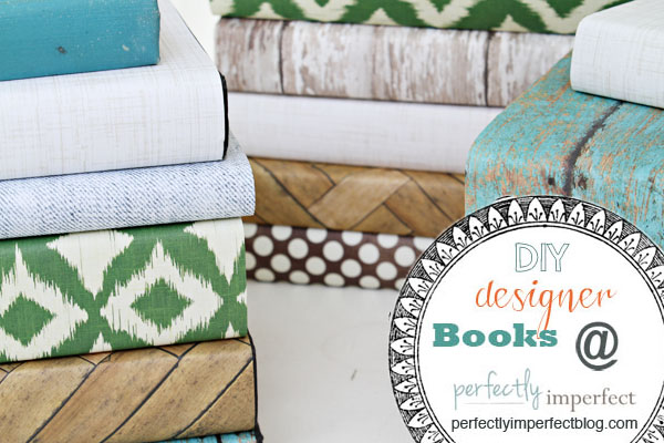 DIY designer books & a tutorial