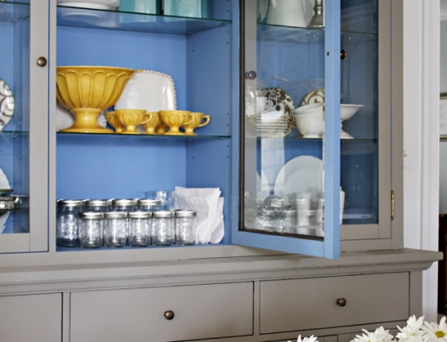Laminate Hutch & Table Redo with Chalk Paint®
