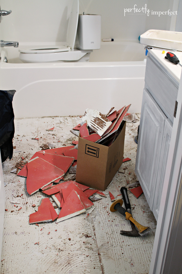 how to remove tile floor removing ceramic tile 26205