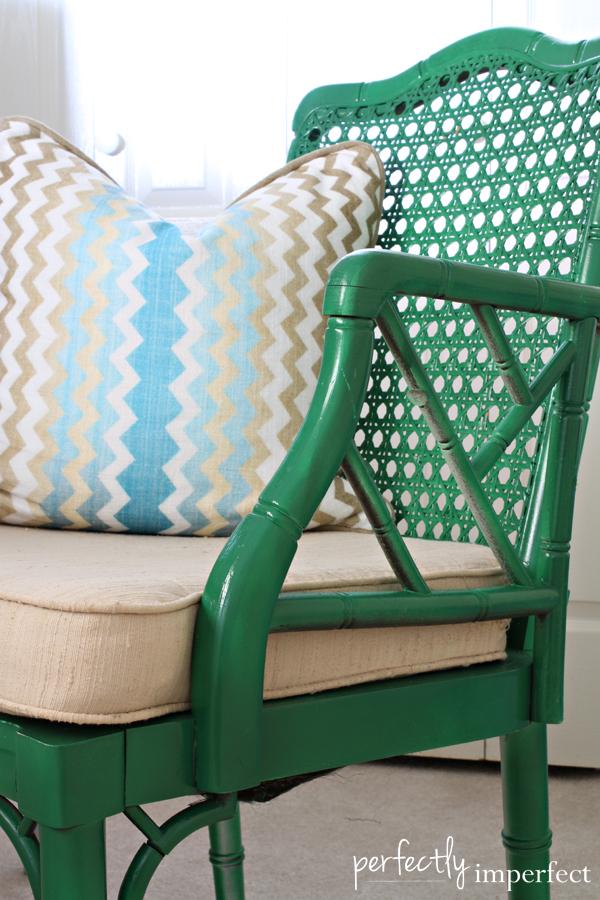 emerald_green_bamboo_chair