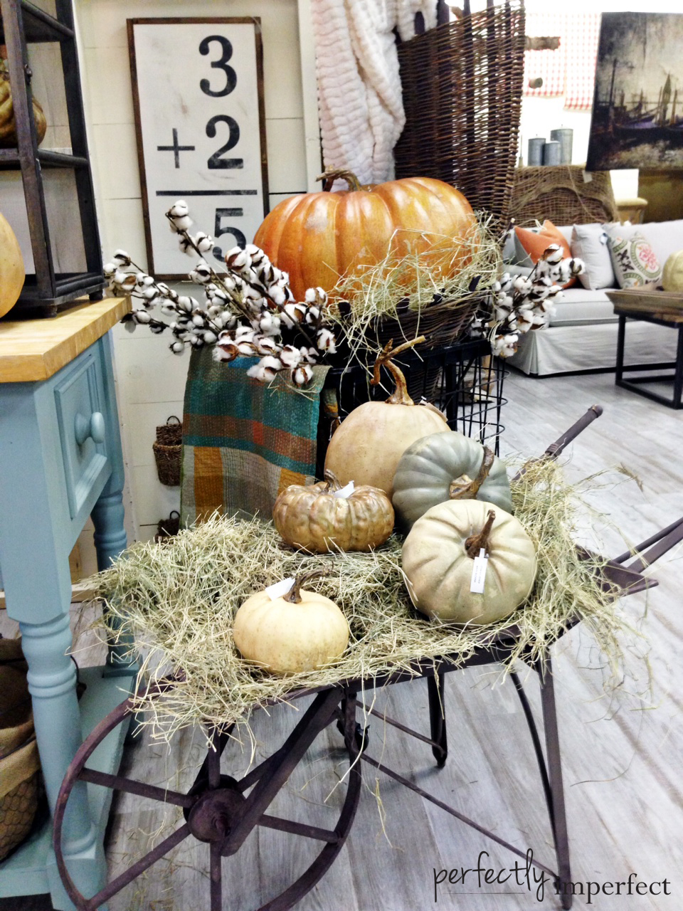 Perfectly Imperfect Fall Display 2