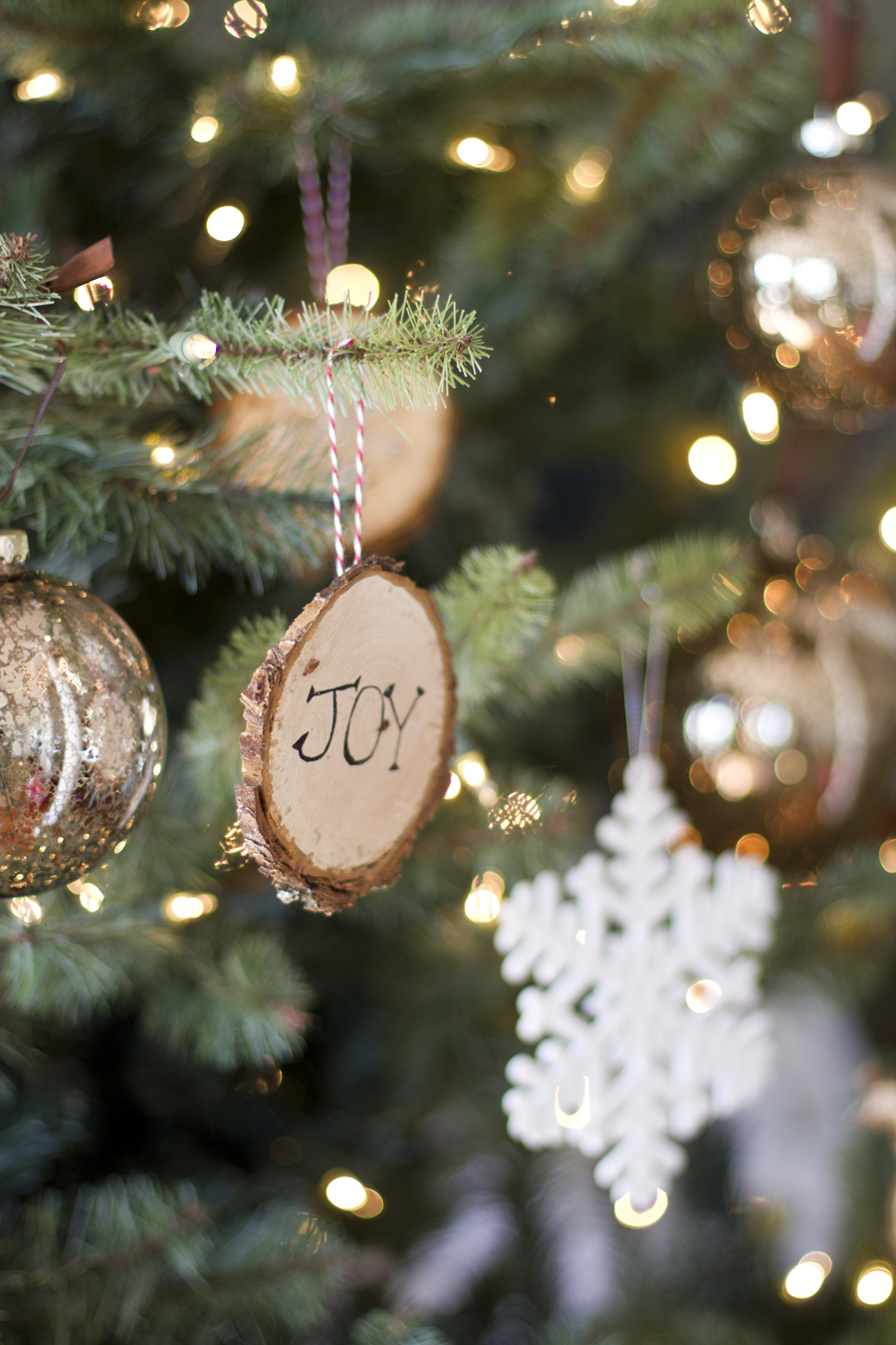 How To Make Wood Slice Ornaments