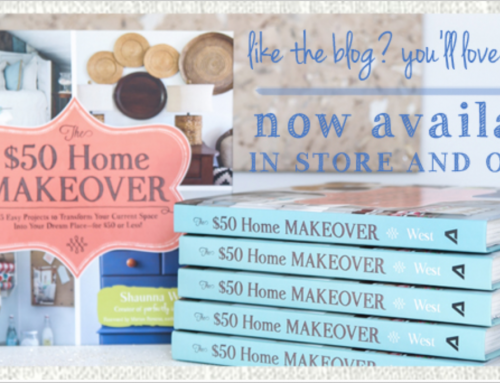 Books Available Online & The $50 Home Makeover Giveaway
