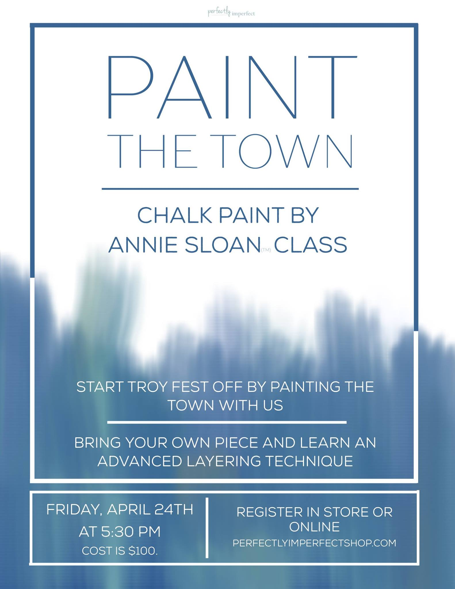 Paint the Town Workshop (and $500 PI Gift Card Giveaway!)