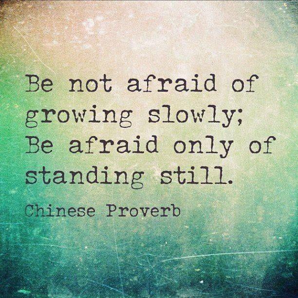 Growing Slowly