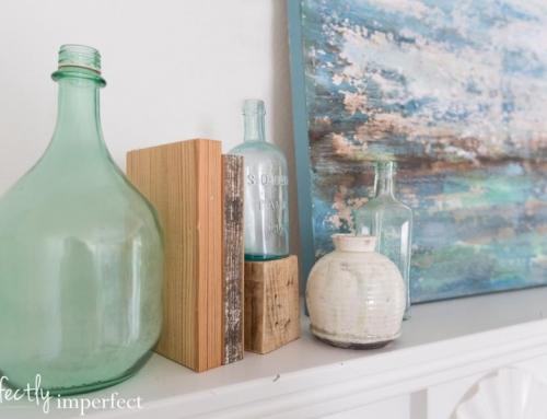 Spring Mantel & Living Room Plans