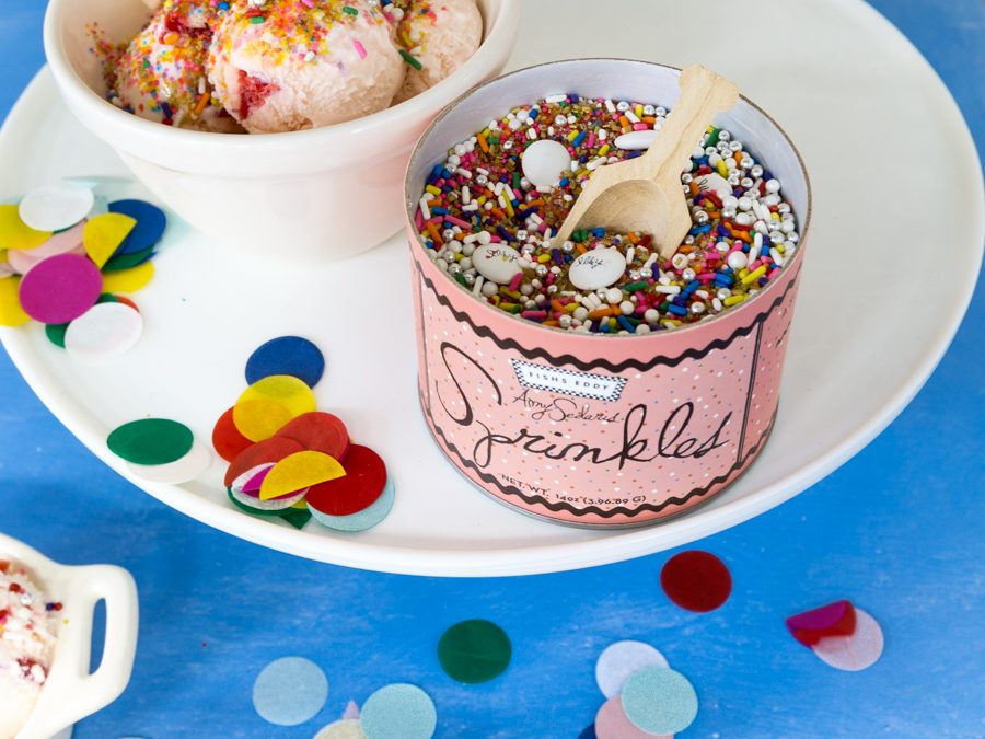 Creamware Dessert Pots, Fishs Eddy Sprinkles, & Photo Shoots