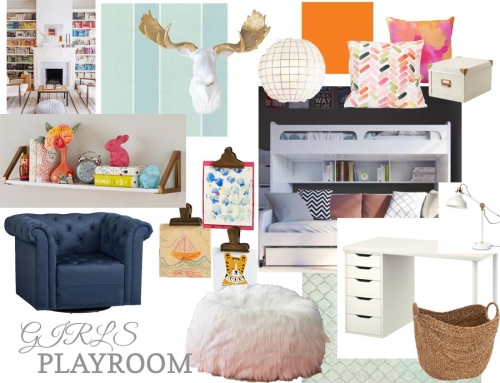 Stephanie's Playroom Inspiration & Design Board