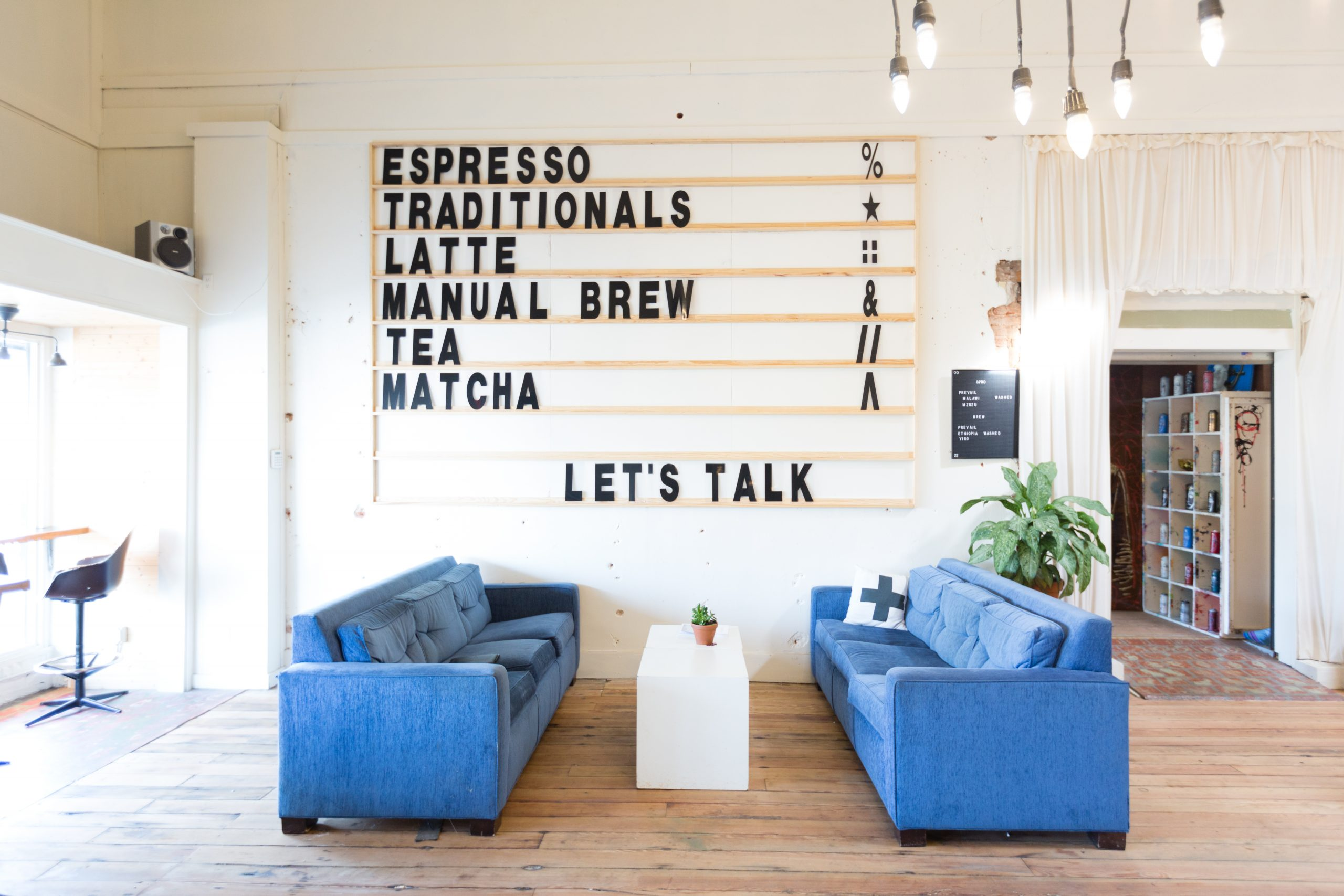 Side Track Coffee Design – Before & After