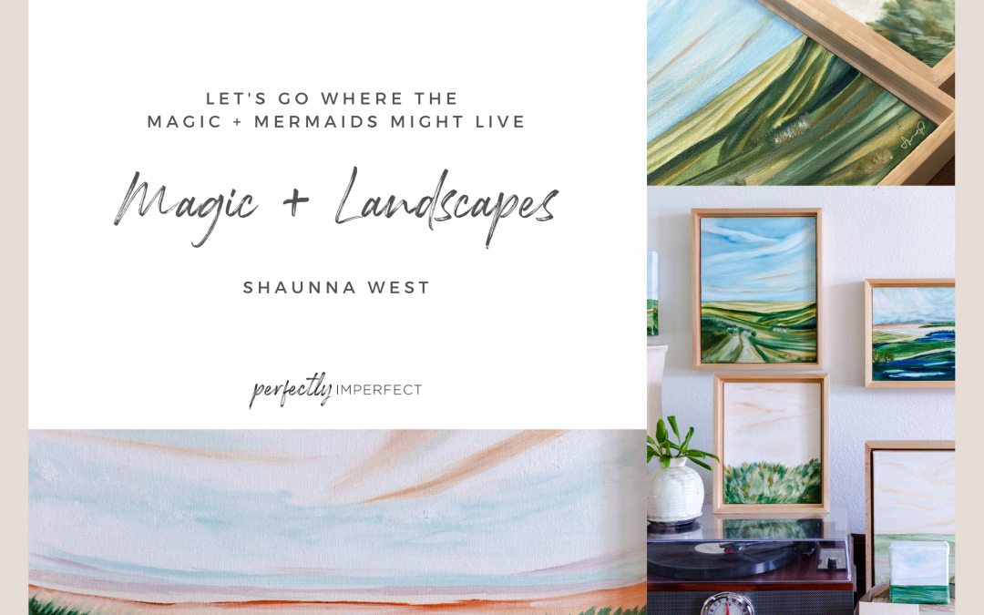 Magic + Landscapes Painting Collection Release