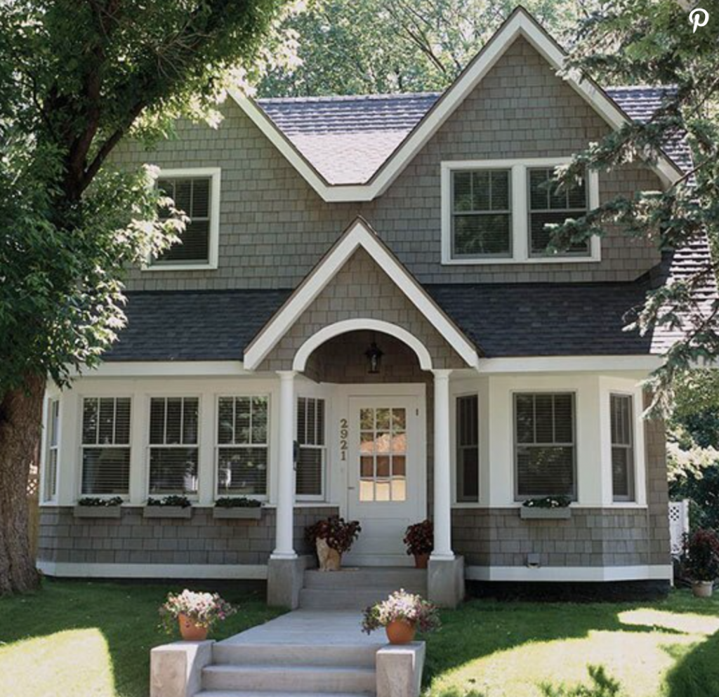 Exterior Paint Colors | Dark Exterior Paint Colors | Our New House Build | Perfectly Imperfect