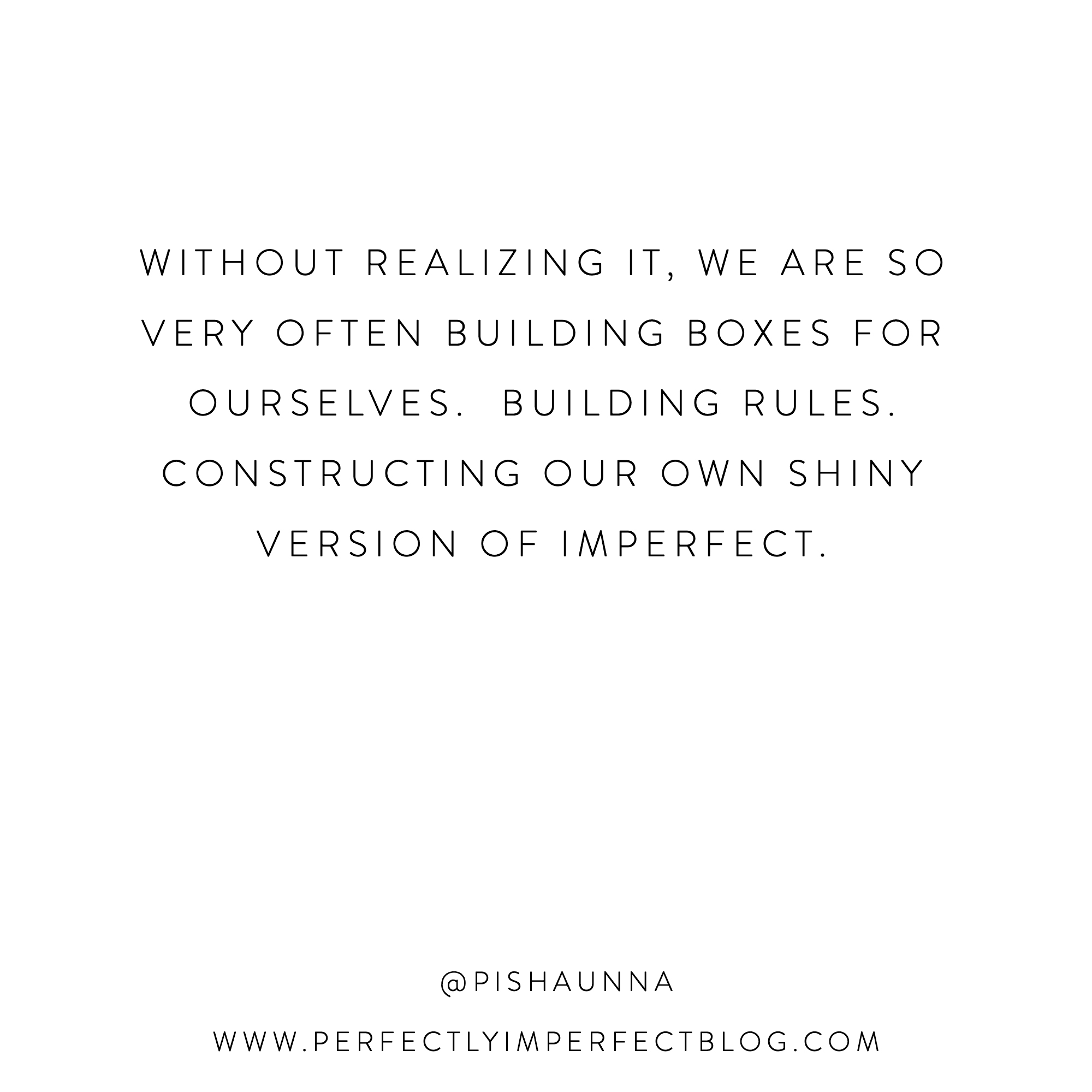Quote | Shaunna West | Perfectly Imperfect | The Middle