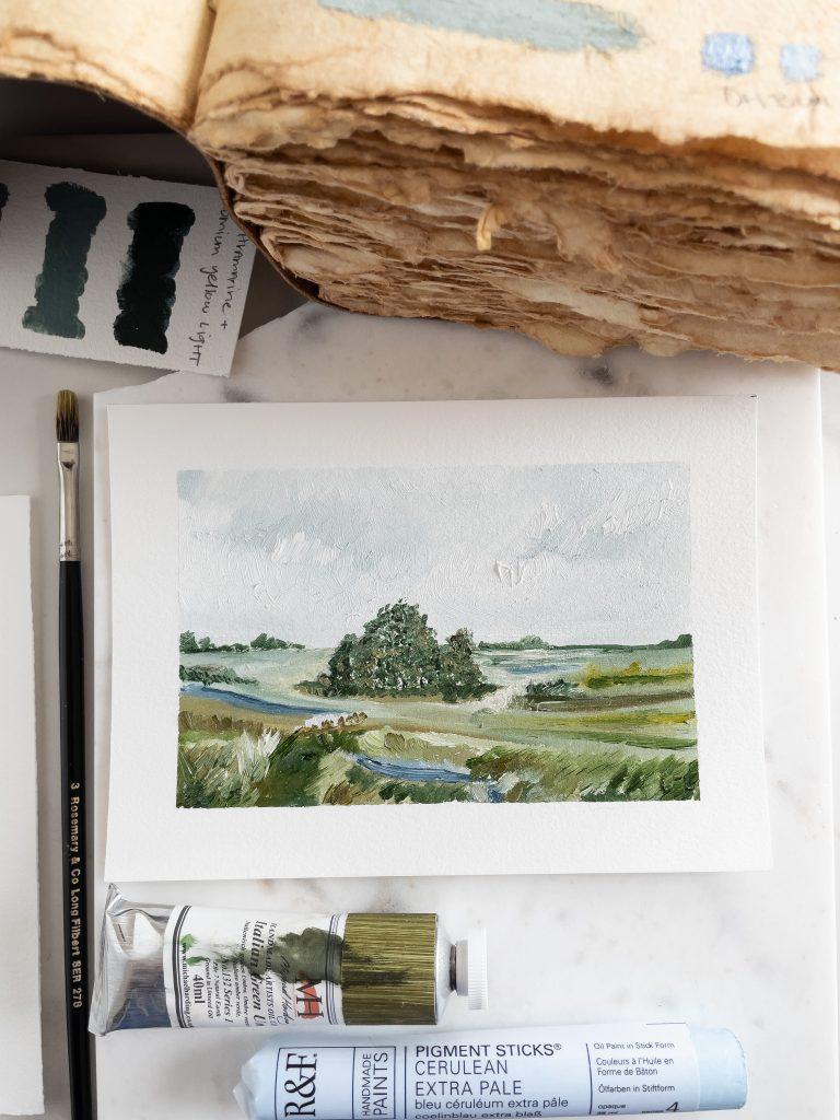 Words & Art | Oil Paintings | Landscape Paintings | Shaunna Parker