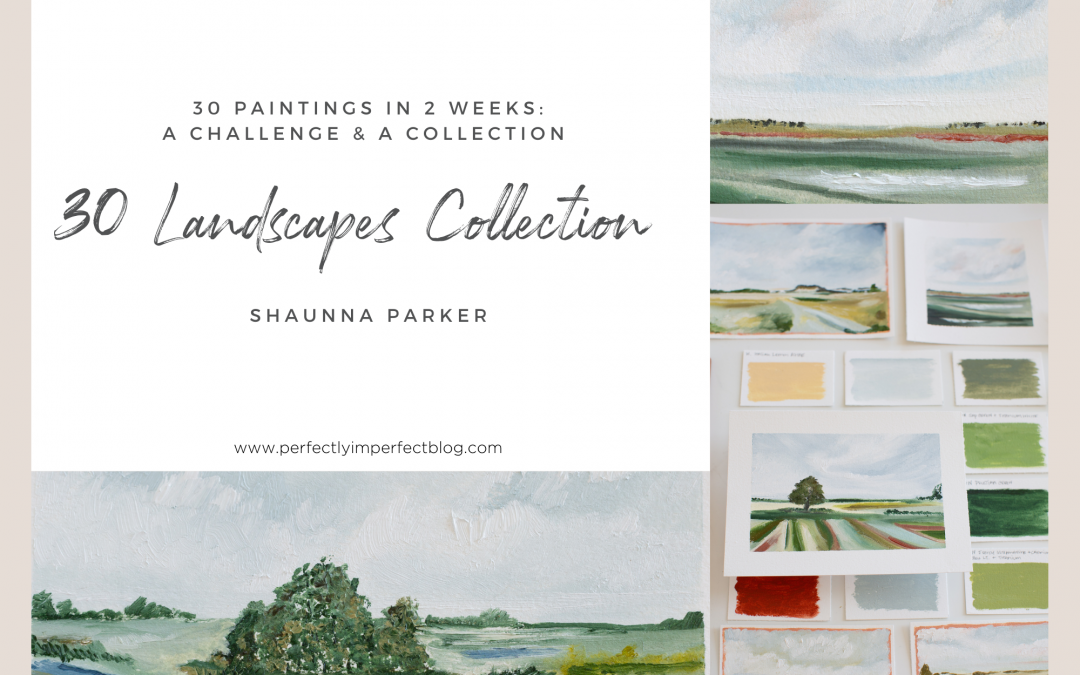 The Collection Release Details & Preview | 30 Paintings in 2 Weeks