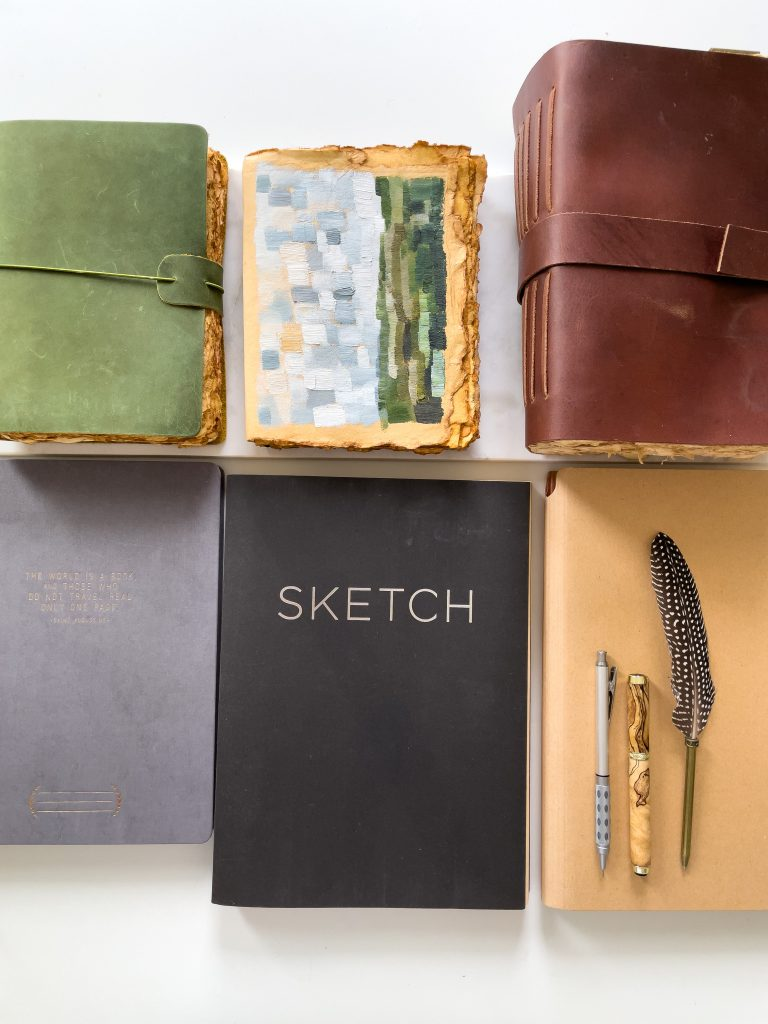 My Favorite Sketch Books | Best Sketch Books for Painting & Writing | Shaunna Parker