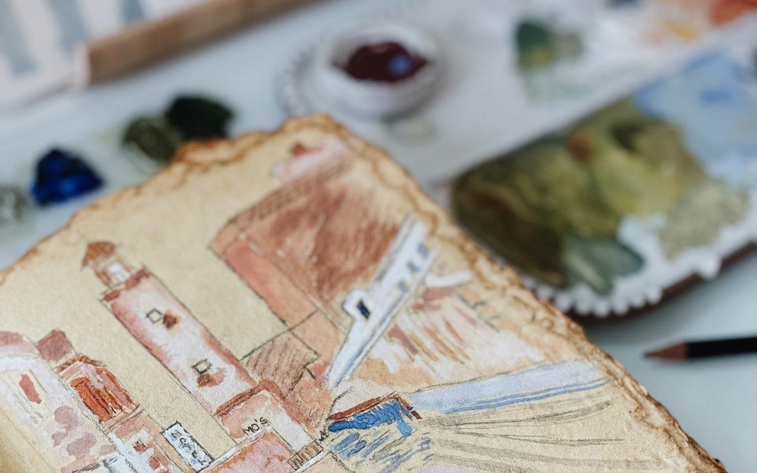 Creative Play in The Sketchbook